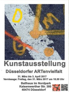 Ballhaus Düsseldorf 31.3 Venissage