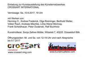 Vernissage in der Kunstmuellerei