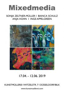 Ausstellung mixed media