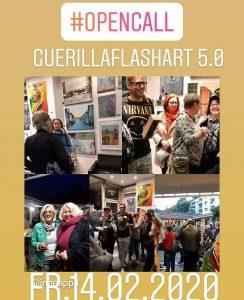 Plakat Guerilla Flaschart